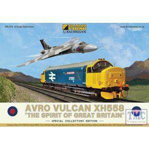 370-375 Graham Farish N Gauge Avro Vulcan XH558 Collectors Pack