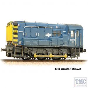 371-015D Graham Farish N Gauge Class 08 08818 BR Blue - Weathered