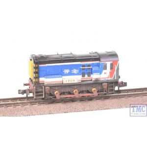 371-023 Graham Farish N Gauge Class 08 08600 Ivor Network SouthEast Weathered by TMC