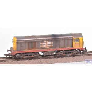 371-034A Graham Farish N Gauge Class 20/0 Headcode Box 20156 BR Railfreight (Red Stripe)