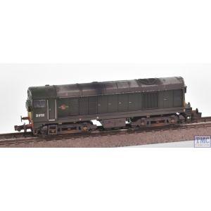371-038 Graham Farish N Gauge Class 20/0 Headcode Box D8158 BR Green (Small Yellow Panels)