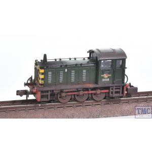 371-050C Graham Farish N Gauge Class 04 D2283 BR Green (Wasp Stripes) Weathered by TMC
