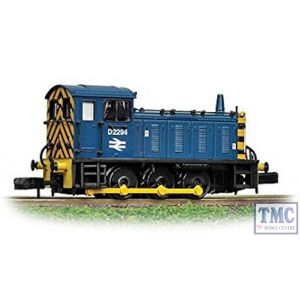 371-051B Graham Farish N Gauge Class 04 D2294 BR Blue with Wasp Stripes