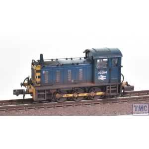 371-051B Graham Farish N Gauge Class 04 D2294 BR Blue with Wasp Stripes Weathered by TMC
