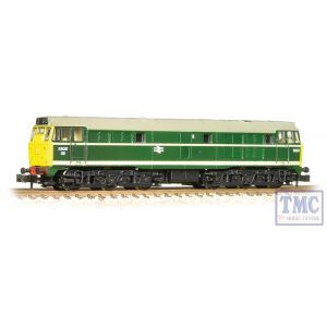 371-110 Graham Farish N Gauge Class 31 5826 BR Green Full Yellow Ends