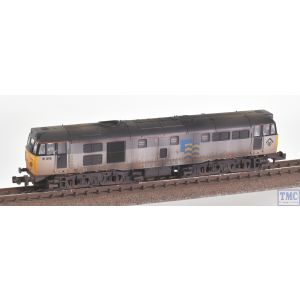 371-136 Graham Farish N Gauge Class 31/1 Refurbished 31319 BR Railfreight Petroleum Sector