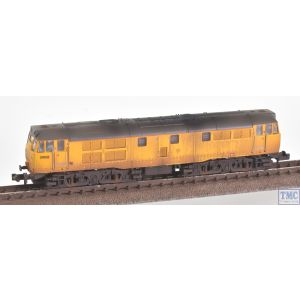 371-137 Graham Farish N Gauge Class 31/6 Refurbished 31602 Network Rail Yellow