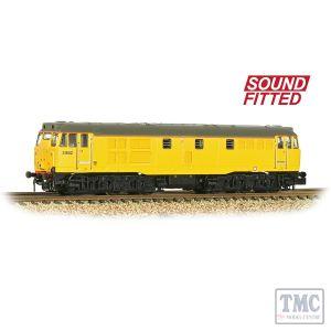 371-137SF Graham Farish N Scale Class 31/6 Refurbished 31602 Network Rail Yellow