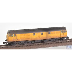 371-137SF Graham Farish N Scale Class 31/6 Refurbished 31602 Network Rail Yellow