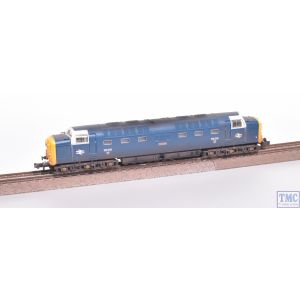 371-288 Graham Farish N Gauge Class 55 'Deltic' 55015 'Tulyar' BR Blue With White Cab Window Surrounds
