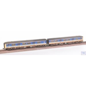 371-329 Graham Farish N Gauge Class 150/2 2-Car DMU 150247 BR Provincial (Sprinter) Weathered by TMC