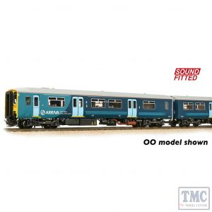 371-334SF Graham Farish N Gauge Class 150/2 2-Car DMU 150236 Arriva Trains Wales (Revised) - Sound Fitted
