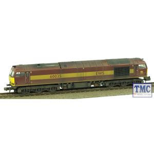 371-350A Graham Farish N Gauge Class 60 60035 EWS Weathered by TMC