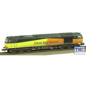 371-358 Graham Farish N Gauge Class 60 60021 Colas Weathered by TMC