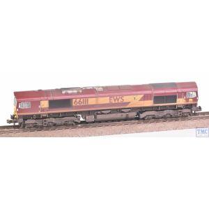 371-384A Graham Farish N Gauge Class 66/0 66111 EWS