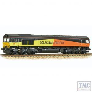 371-387 Graham Farish N Gauge Class 66/8 66846 Colas Rail Freight