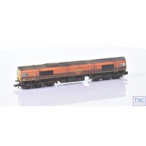 371-388 Graham Farish N Gauge Class 66/4 66413 Freightliner G&W