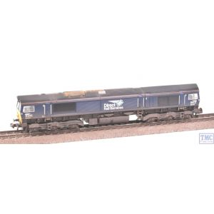371-397 Graham Farish N Gauge Class 66 66434 DRS Plain Blue Compass Weathered by TMC