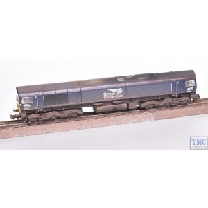 371-397 Graham Farish N Gauge Class 66 66434 DRS Plain Blue Compass