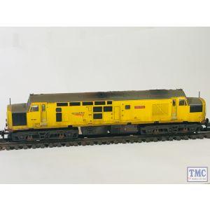 371-468A Graham Farish N Gauge Class 37/0 Centre Headcode 97304 'John Tiley' Network Rail Yellow