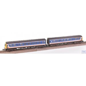 371-505 Graham Farish N Gauge Class 101 2-Car DMU BR Network SouthEast (Revised) Weathered by TMC