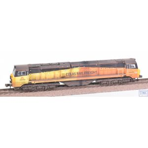 371-641 Graham Farish N Gauge Class 70 With Air Intake Modifications 70805 Colas Rail Freight