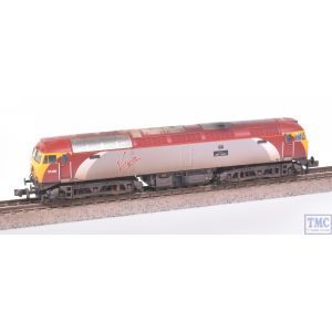 371-650A Graham Farish N Gauge Class 57/3 57306 Jeff Tracy Virgin Trains (Revised) Weathered by TMC