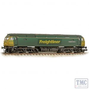 371-651A Graham Farish N Gauge Class 57/0 57008 'Freightliner Explorer' Freightliner Green - Weathered