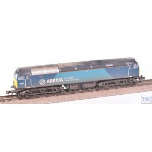 371-659 Graham Farish N Gauge Class 57/3 57315 Arriva Trains Wales (Revised) with VALUE Weathering by TMC