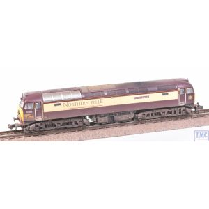 371-661 Graham Farish N Gauge Class 57/3 57305 Northern Princess DRS Northern Belle with VALUE Weathering by TMC
