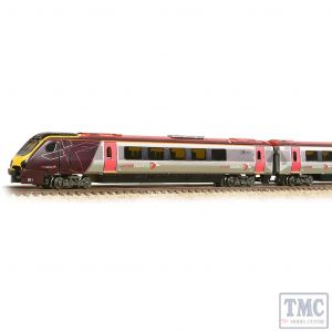 371-679 Graham Farish N Gauge Class 220 4-Car DEMU 220009 Arriva Cross Country