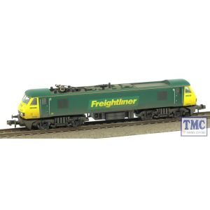 371-777 Graham Farish N Gauge Class 90 90046 Freightliner Weathered by TMC (Pre-owned)