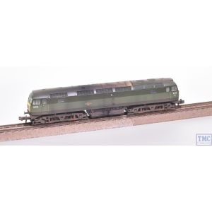 371-825C Graham Farish N Gauge Class 47/0 D1779 BR Two-Tone Green (Small Yellow Panels)