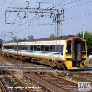 371-850 Graham Farish N Gauge Class 158 2-Car DMU 158849 BR Regional Railways