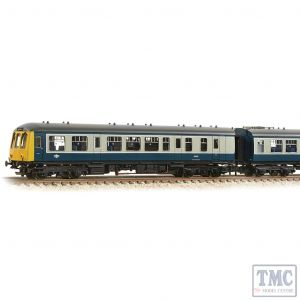 371-877A Graham Farish N Gauge Class 108 2-Car DMU BR Blue & Grey