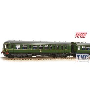 371-887DS Graham Farish N Gauge Class 108 3-Car DMU BR Green (Speed Whiskers) - Sound Fitted