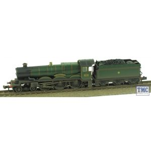 372-030 Graham Farish N Gauge Castle Class 'Earl of Dunraven' 5044 GWR Lined Green Real Coal & Weathered by TMC