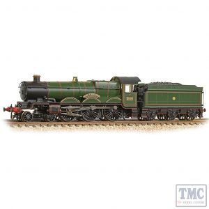 372-030 Graham Farish N Gauge GWR 4073 'Castle' 5044 'Earl of Dunraven' GWR Lined Green (Shirtbutton)