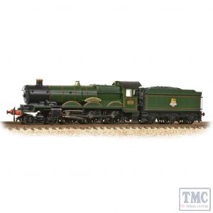 372-031 Graham Farish N Gauge GWR 4073 'Castle' 5041 'Tiverton Castle' BR Lined Green (Early Emblem)