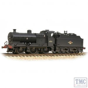 372-065 Graham Farish N Gauge MR 3835 4F with Fowler Tender 43931 BR Black (Late Crest)  - Weathered