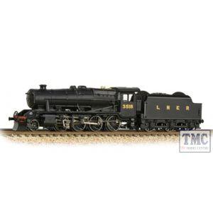 372-160 Graham Farish N Gauge LNER O6 3506 LNER Black (LNER Revised)