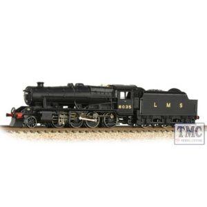 372-161 Graham Farish N Gauge LMS Stanier 8F 8035 LMS Black (Revised)