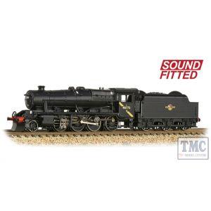 372-163DS Graham Farish N Gauge LMS Stanier 8F 48773 BR Black (Late Crest) - Sound Fitted
