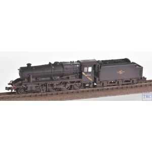 372-163DS Graham Farish N Gauge LMS Stanier 8F 48773 BR Black (Late Crest) - Sound Fitted