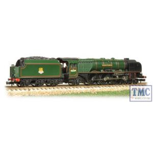 372-181 Graham Farish N Gauge Princess Coronation Class 46229 Duchess of Hamilton BR Green E/E