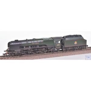 372-182A Graham Farish N Gauge LMS Princess Coronation 46241 City of Edinburgh BR Lined Green (Late Crest)(Pre-owned)