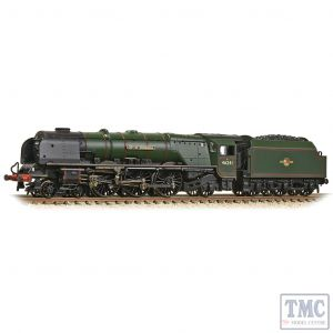 372-182A Graham Farish N Gauge LMS Princess Coronation 46241 'City of Edinburgh' BR Lined Green (Late Crest)