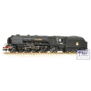 372-185 Graham Farish N Gauge Princess Coronation Class 46236 City of Bradford BR Black E/E
