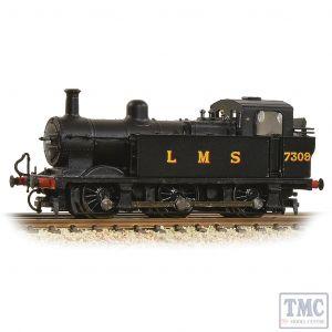 372-210A Graham Farish N Gauge LMS 3F 'Jinty' Tank 7309 LMS Black (Original)
