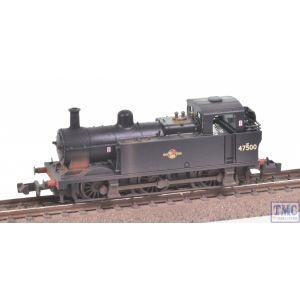 372-212A Graham Farish N Gauge LMS 3F 'Jinty' Tank 47500 BR Black (Late Crest)